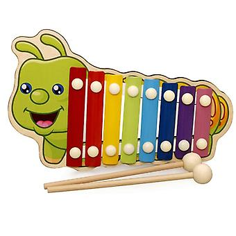 Baby Kid Musical Houten Xylofoon Instrument Animal Cartoon