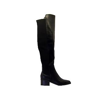 Steve Madden Graphiteparis Women's Stivali in pelle finta nera
