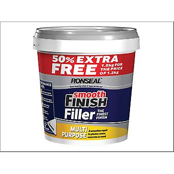 Ronseal Smooth Fin.Multi Purpose Ready Mixed Filler 1.2kg + 50%