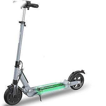 Scooter eléctrico adultos batería plegable 350w motor E Scooter con neumático sólido de 8 pulgadas con pantalla LED Kick Scooter