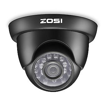 Zosi 2.0mp HD 1080p قبة كاميرا الأمن (الهجين 4-في-1 HD-cvi/tvi/ahd/960h التناظرية cvbs)، 24pcs المصابيح،