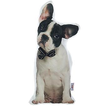 Boston Terrier hund formet fyldt pude