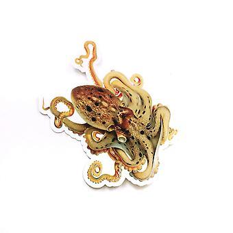 antikk blekksprut vinyl klistremerke