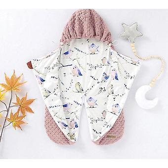 Winter Warm Baby Sleeping Bags, Footmuff For Stroller Autumn Zip Up Hooded
