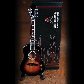 Acoustic Vintage Sunburst Finish Miniature Guitar USA tuonti