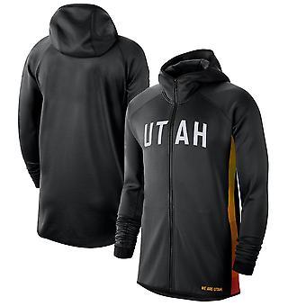 Utah Jazz 201920 Earned Edition Showtime Full Hoodie Top WY123
