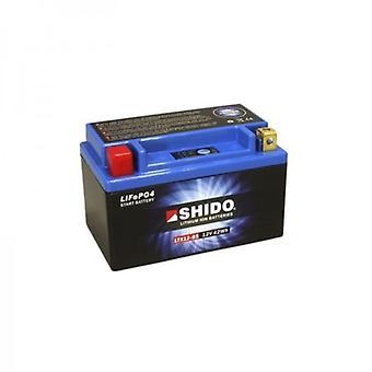 Shido Motorcycle Lithium Iron Battery LiFePO4 12V 3 5Ah 0 9kg 150x87x130mm