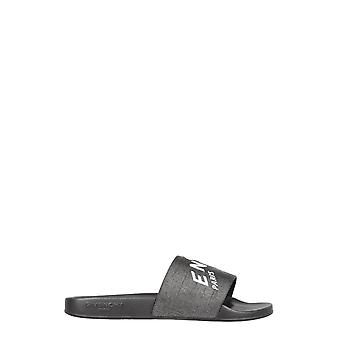 Givenchy Bh300yh0qb004 Men's Black Fabric Sandals