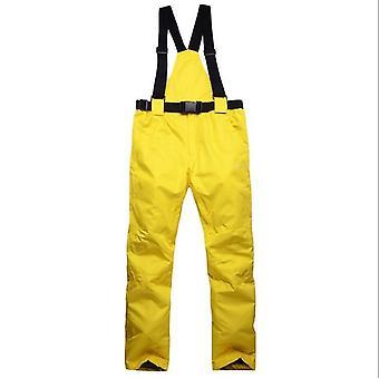 Teplé Snow Ski -sportovní pás Kalhoty Kalhoty -vodotěsný & větruodolný oblek