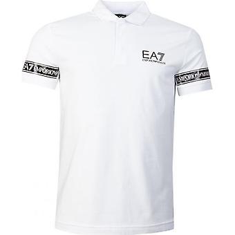 חולצת פולו סרט Ea7