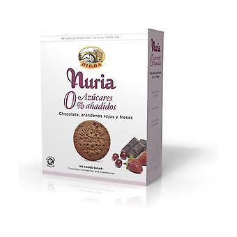 Nuria Chocolate, cranberries and strawberries 0% 270 g