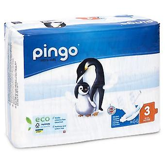 Pingo Box of Ecological Diapers Size 3 with 88 Units