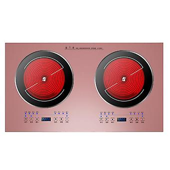 2200w Embedded Double Oven Induction Cooker Home Intelligent Double-head