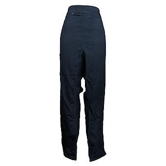 الدنيم وشركاه المرأة & ق السراويل طويل القامة الساق مستقيم جان W / جيوب الأزرق A386241