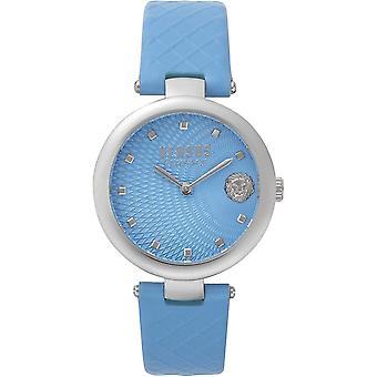 Versus by Versace Women's Watch Wristwatch BUFFLE BAY VSP870118 Leather