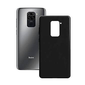 Mobile cover Xiaomi Redmi 9 Contact Silk TPU Black