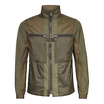 G-Star Fabric Mix Overshirt Combat Groen D19004
