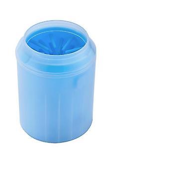 Hund Paw Reiniger Tasse weiche Silikon Kamm