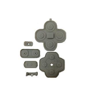 Przycisk styki dla nintendo 3ds xl konsoli nintendo przewodzące silikonowe gumowe pad zestaw wymiany wewnętrznej | zedlabz ( zedlabz )