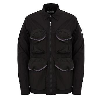 Weekend Offender 2110 Matira Lightweight Utility Over-shirt Jacket - Black