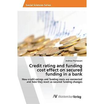 Credit Rating and Funding Cost Effect on Secured Funding in a Bank by