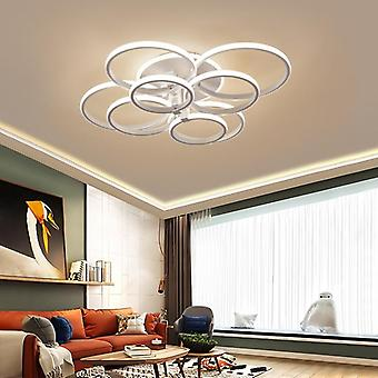 Modern Led Chandelier With Remote Control Acrylic Lights ( Set 4)