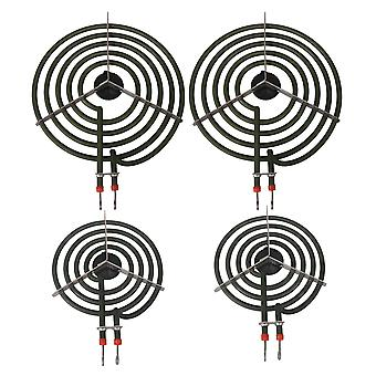 4x MP22YA 8 pollici e 6 pollici Range Stove Cooktop Surface Burner Element Receptacle
