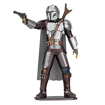 Star Wars Mandalorian Hahmo Premium Väri 3D Metalli Maa MalliSarja