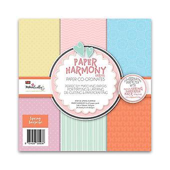 Polkadoodles Spring Harmony paquete de papel de 6x6 pulgadas