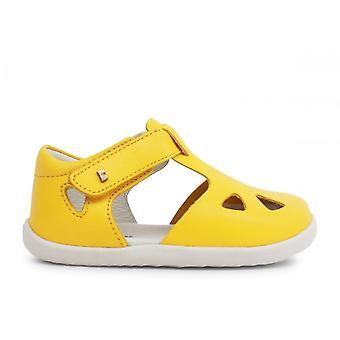 BOBUX Closed Heal / Closed Toe Sandal Su Zap In Yellow