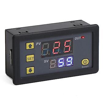 Dc 12v/24v/ac 110v 220v Cycle Timer Delay Relay Adjustable Power Supply