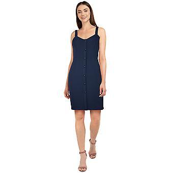 Chic Star Plus Size Strap Dress en Navy