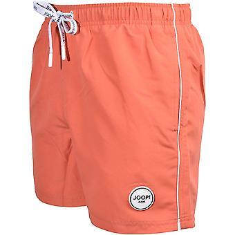 Joop! Jeans South Beach Swim Shorts, Coral Orange