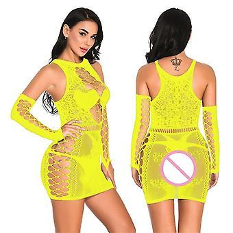 Plus Size Sexy Lingerie Dress ( Set 1)
