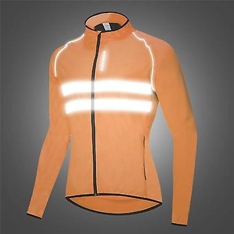 Ultralight Reflective Men's Cycling Jacket Long
