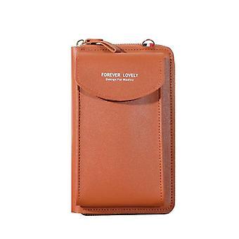 Women Wallet, Leather Shoulder Bag, Mobile Phone-card Wallet