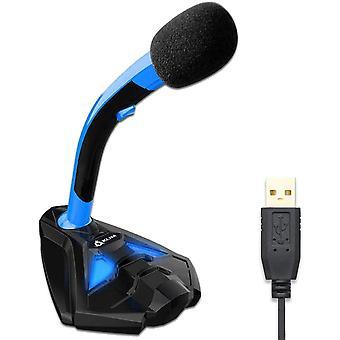 FengChun Voice Desktop USB Mikrofonstand für Laptop Computer - Gaming Mic - Mikrofon PC PS4