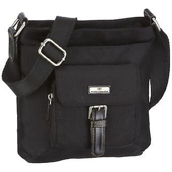 Tom Tailor Acc RINA - Crossbody tas dames, kleur: zwart (zwart 60), 23 x 23 x 4 cm