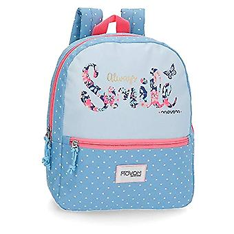 MOVOM Always Smile Backpack Casual 32 centimeters 8.64 Blue (Azul)