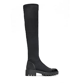 Women's Over-the-knee Boots, Elastic Slim Boots