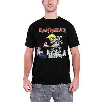 Iron Maiden T skjorte Eddie Beast av New York Liberty logo offisielle Mens Black