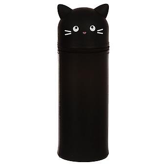 Feline Fine Cat Silicone Étui crayon droit