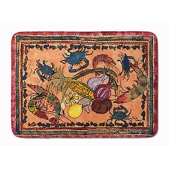 Tappeto caroline's treasures crab floor, 19 x 27, multicolore - 8067-tappeto