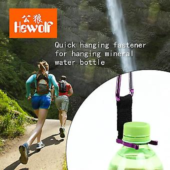 Quick Hanging Buckle Oxford Cloth Ribbon Water Bottle Mountaineering Buckle
