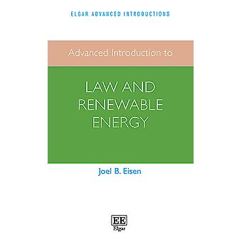 Advanced Introduction to Law and Renewable Energy