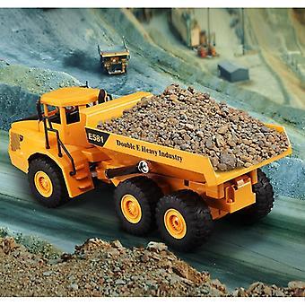 2.4ghz Sähköinen kaukosäädin, Rc Engineering Dump Truck Lelu