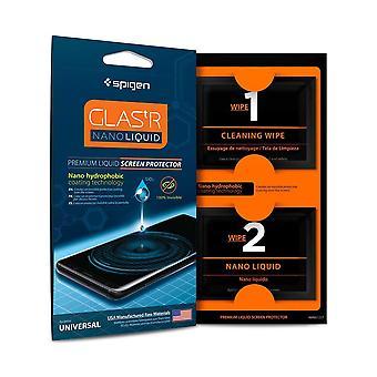 Spigen Glas.tR Nano Liquid Screen Protector for Mobile Devices - Clear