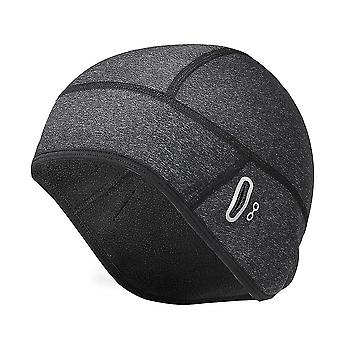 Cycling Skull Cap Running Beanie Hats for Men Women for Motorcycle, Cycling, Football(18x17cm)(Grey)