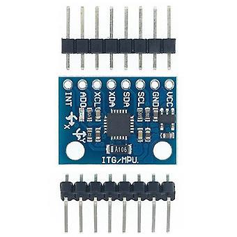 Gy-521 mpu-6050 mpu6050 moduuli 3 akselin analogiset gyroanturit + 3-akselinen kiihtyvyysmittarimoduuli