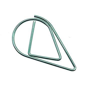 50 Pcs Métal Matériau Drop Forme Trombones